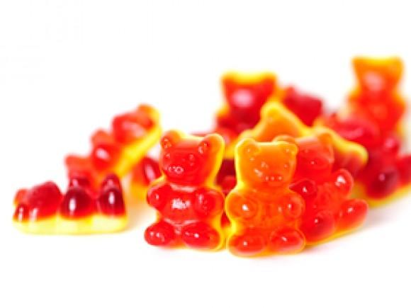 Fruchtsaft-Rote Grütze-Bären
