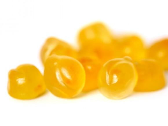 Fruit Snäcks Pfirsich