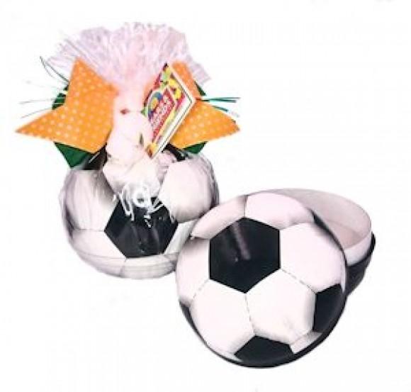Fußballkugel gefüllt