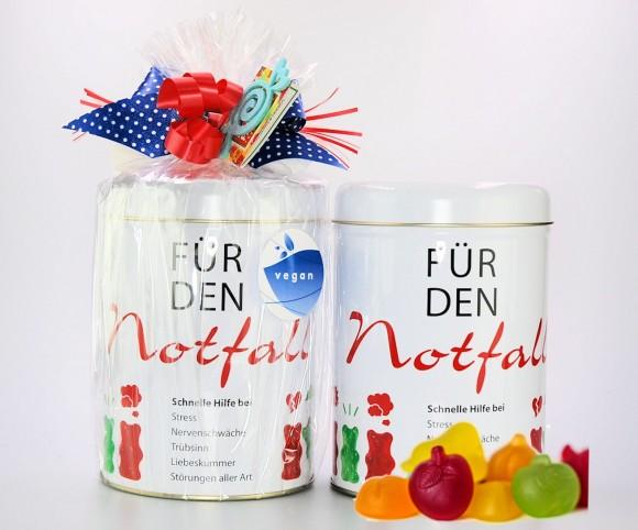 Notfall-Dose vegan