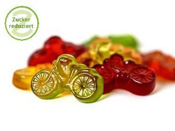 Fruchtsaft-Fahrräder